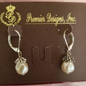 Premier Designs retired Pink Cloud earrings.